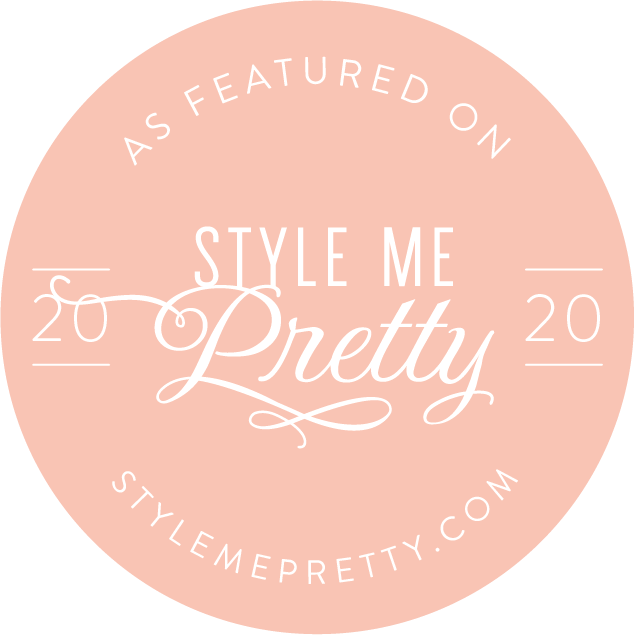 As Seen on Style Me Pretty 2020