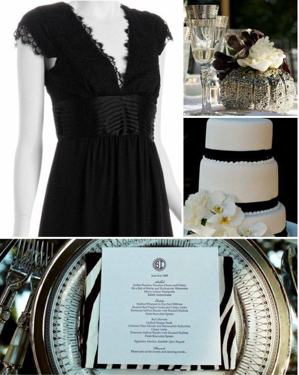 Smp Plays Homage To The Classic Little Black Dress For Bridesmaids