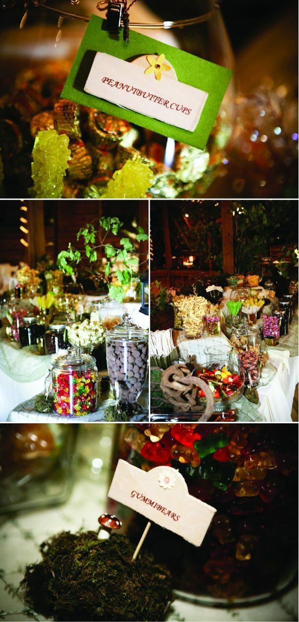 Candy Buffet Round Barn Farm Orchard Cove Adrienne Justin