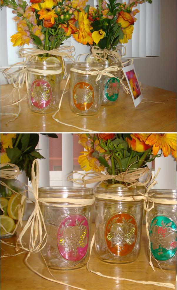 Diy Project Mason Jar Vases