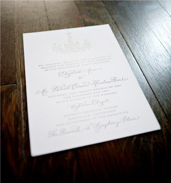 wedding invitations by laura hooper