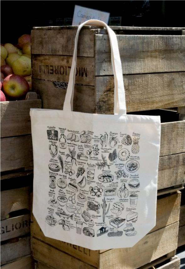 food totes by melangerie