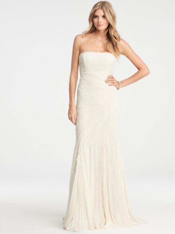 New Wedding Gowns From Ann Taylor A Special Offer
