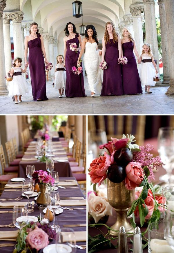 Amber Events Bridesmaids Tables