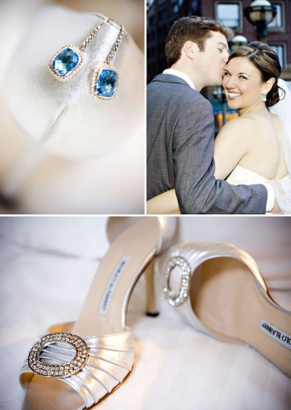 Adeline & Grace Weddings Something Blue Manolo Blanhnick