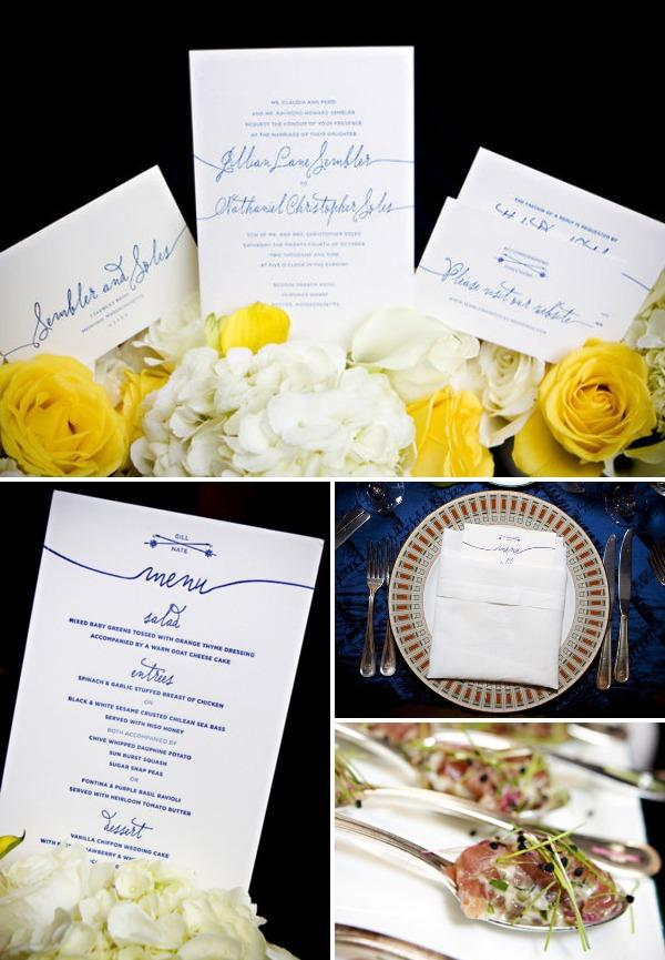Adeline & Grace Weddings Calligraphy Betsy Dunlap