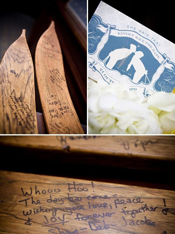 Adeline & Grace Weddings Ski Inspired Guest Book