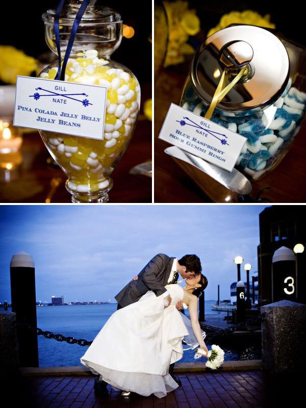 Adeline & Grace Candy Buffet Wedding Kiss