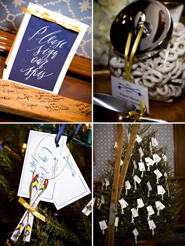 Adeline & Grace Escort Cards Guest Book