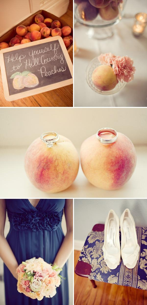 Peach Wedding 2