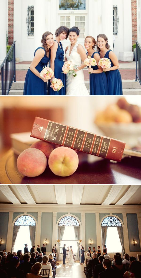 Peach Wedding 3