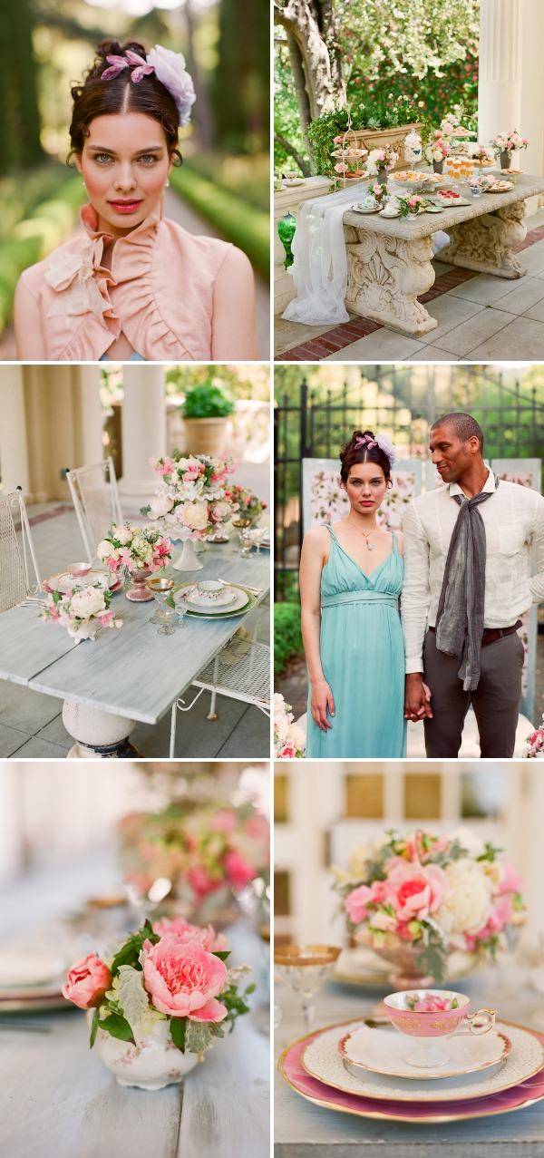Pride And Prejudice Wedding Inspiration