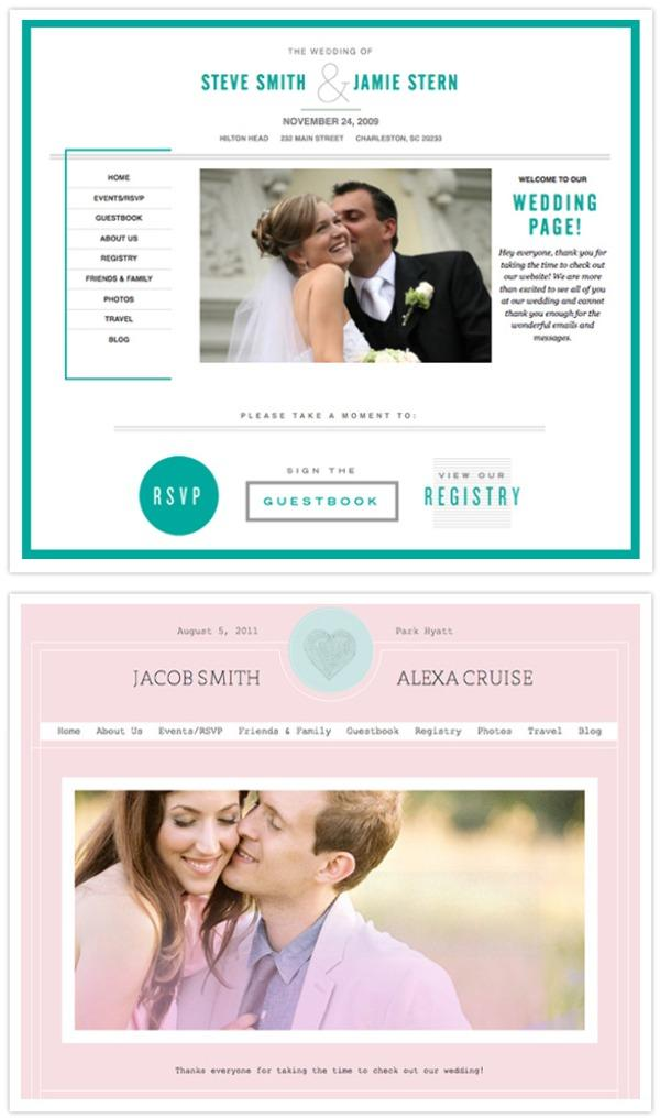 Wedding Jojo Has A Huge Range Of Cool Modern Themes To Choose And Customizing Them Is So Very Easy No Website Developers Needed You Can Upload All