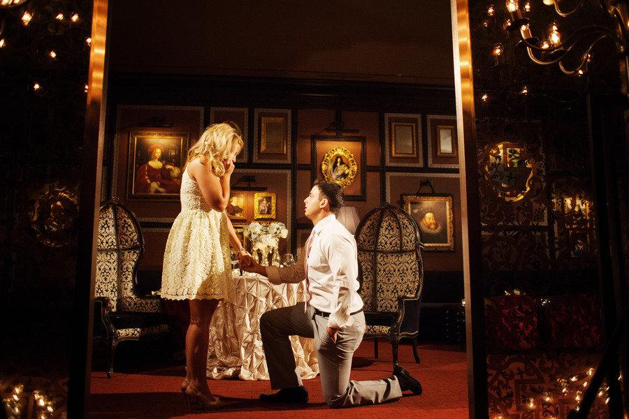 chicago proposal at hotel sax by visions wedding amp event