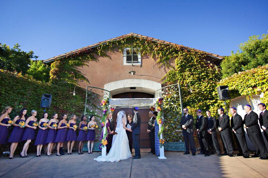 Viansa Winery Wedding From Catherine Hall Studios